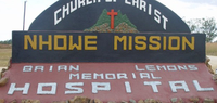 Nhowe Mission Brian Lemons Memorial hospital